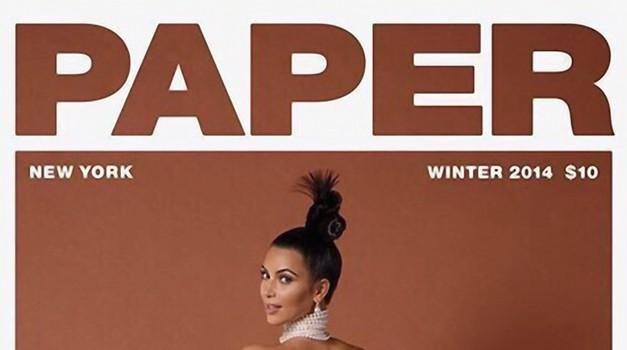 1. Paper z golo Kim Kardashian (foto: Profimedia)