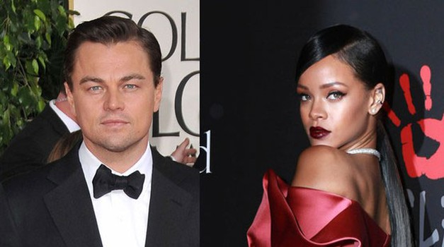 Leonardo DiCaprio in Rihanna (foto: Profimedia)