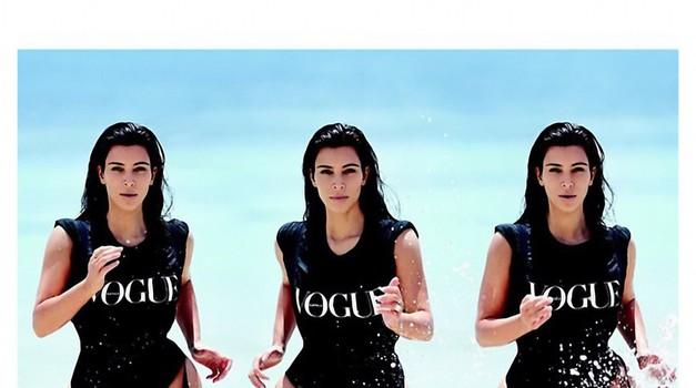 Kim Kardashian razkrila 3 fotografije iz revije Vogue  (foto: Profimedia)