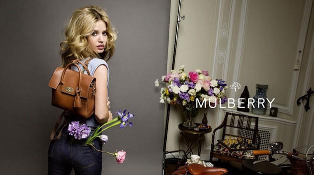 Modna princeska Georgia May Jagger je nov obraz znamke Mulberry (foto: Profimedia)