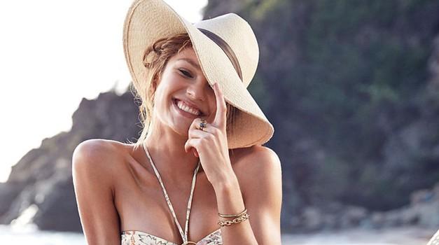 Foto: Seksi Candice Swanepoel predstavlja kopalke Victoria's Secret (foto: Profimedia)