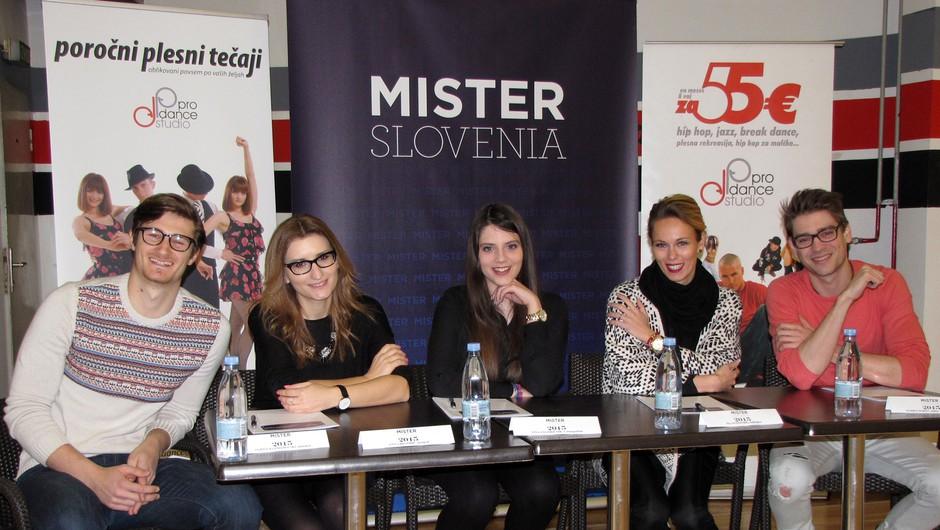 Mister Slovenije 2015: Komisija izbrala polfinaliste (foto: misterslovenia.com)