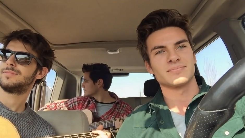 Skrivnostni fantje posneli video, ki se nevarno hitro širi (foto: YouTube)