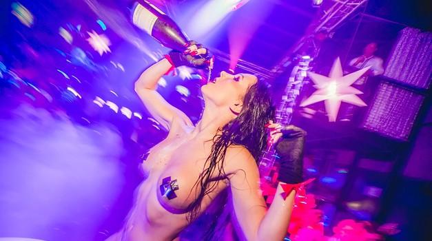 Playboy in Cirkus poskrbela za najboljši velikonočni žur (foto) (foto: Marko Delbello Ocepek)