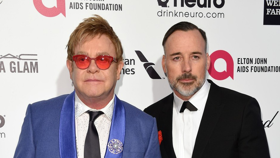 Elton John in David Furnish (foto: profimedia)