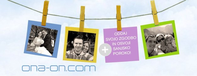Povej svojo zgodbo in osvoji sanjsko poroko! (foto: ona-on.com)