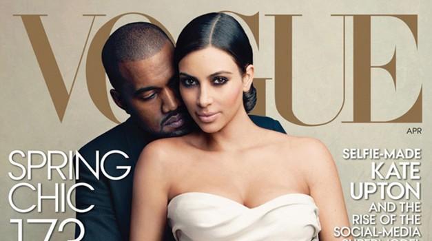 Oglej si, kako sama ustvariš make-up v stilu Kim z naslovnice Vogue (foto: Profimedia)