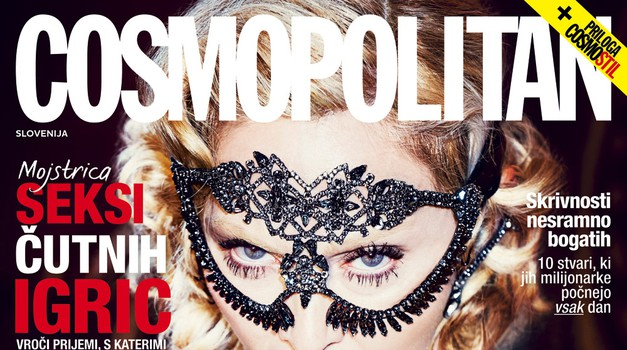 7 razlogov, zakaj moraš imeti novi Cosmo z Madonno (foto: promocijsko gradivo)