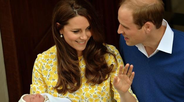 Kate in William z malo princesko že doma (foto: Profimedia)