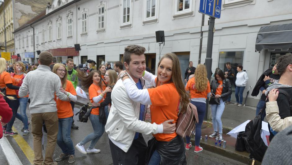 FOTO: Znova se je plesala največja četvorka na svetu!  (foto: Primož Predalič (AM))