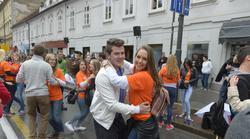 FOTO: Znova se je plesala največja četvorka na svetu!