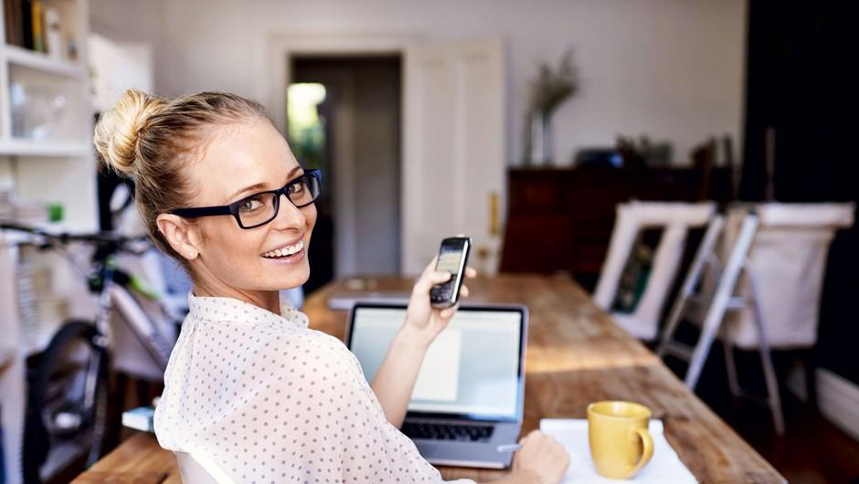 9 pasti, če imaš pisarno doma in si sama svoja šefinja (foto: Getty Images)