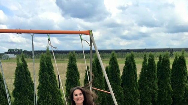 Rebeka ima velik razlog za srečo (foto: Facebook)