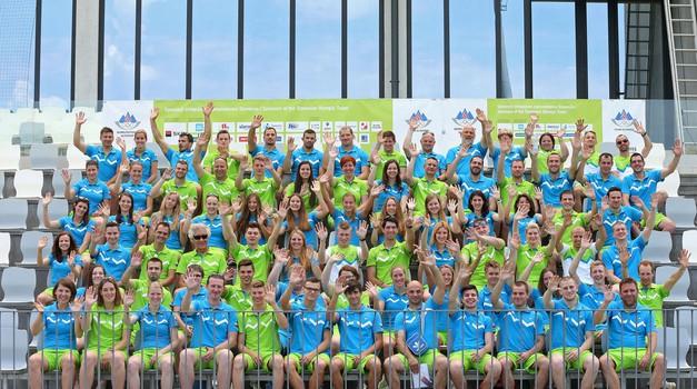 Baku 2015: Na prvih evropskih igrah tudi 83 slovenskih športnikov (foto: Aleš Fevžer)