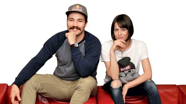 Filip in Tina o varanju in fantu od prijateljice (foto: Aleš Pavletič)