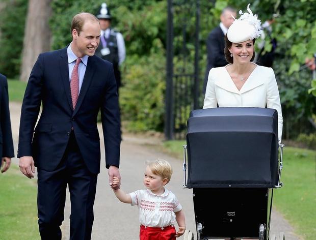 Kraljeva družinica je bila tudi tokrat videti popolno.