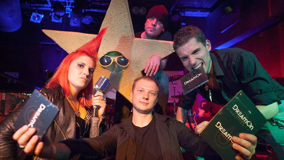 DreamOn imajo novi album in videospot Vikend zvezda (foto: Matic Zorman)