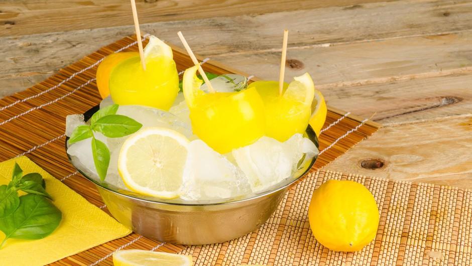 Limonina zmrzlina te bo osvežila v vročinskem valu.  (foto: Profimedia)