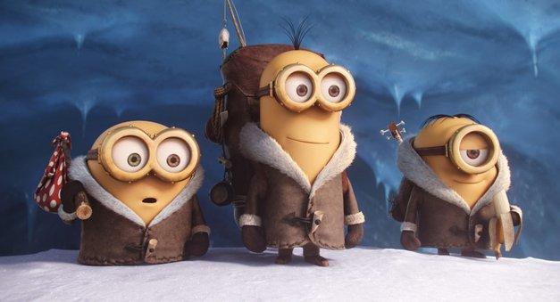 Bob, Kevin in Stuart na lovu za največjo barabo (foto: Karantanija Cinemas)