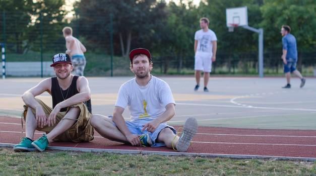 Raperja David in Murat predstavila nov videospot (foto: Menart)