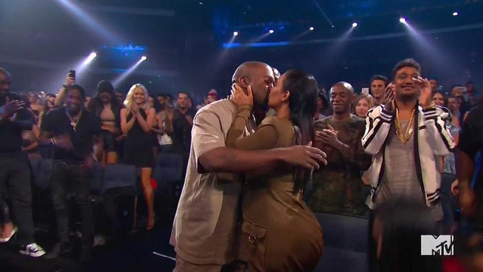 Neverjetno, kaj je Kanye West najavil na podelitvi MTV nagrad (foto: Profimedia)