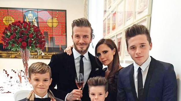 Je David Beckham prestrog očka? (foto: Profimedia)