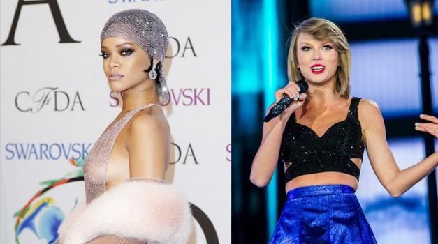 Zakaj ne bo Rihanna nikoli nastopila s Taylor Swift? (foto: Profimedia)