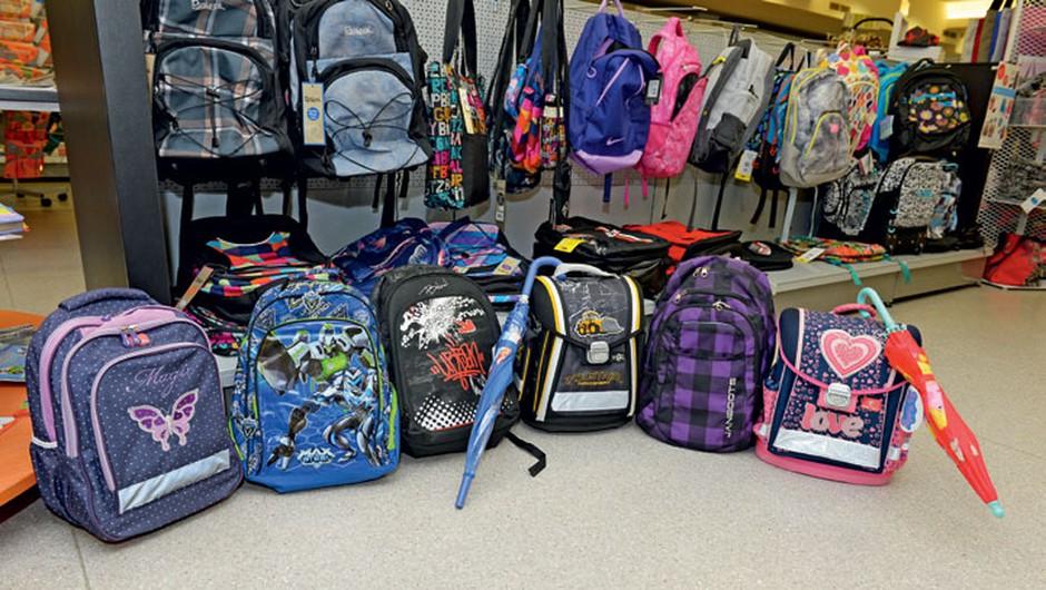 DZS podaril šest novih in polnih šolskih torb (foto: promocijsko gradivo)
