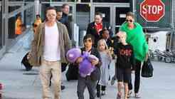 Brad in Angelina - kmalu jih bo 9!