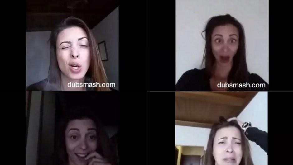 S tem videom je Žana dokazala, da ima izjemen igralski talent! (foto: Facebook)