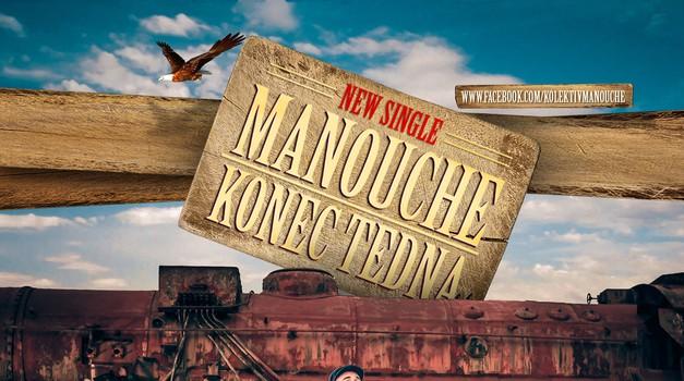 Poslušaj Konec tedna, novi single naše skupine Manouche (foto: promocijsko gradivo skupine)