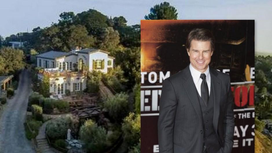 Tom Cruise se je poslovil od svojega čudovitega hollywoodskega doma, za katerega je dobil 11,4 milijone dolarjev. Njegov dom se je razprostiral na slovitih ... (foto: Profimedia)