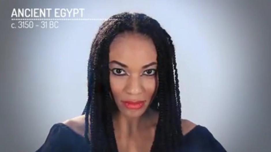VIDEO: 5000 let ličenja v 4-ih minutah (foto: Youtube)