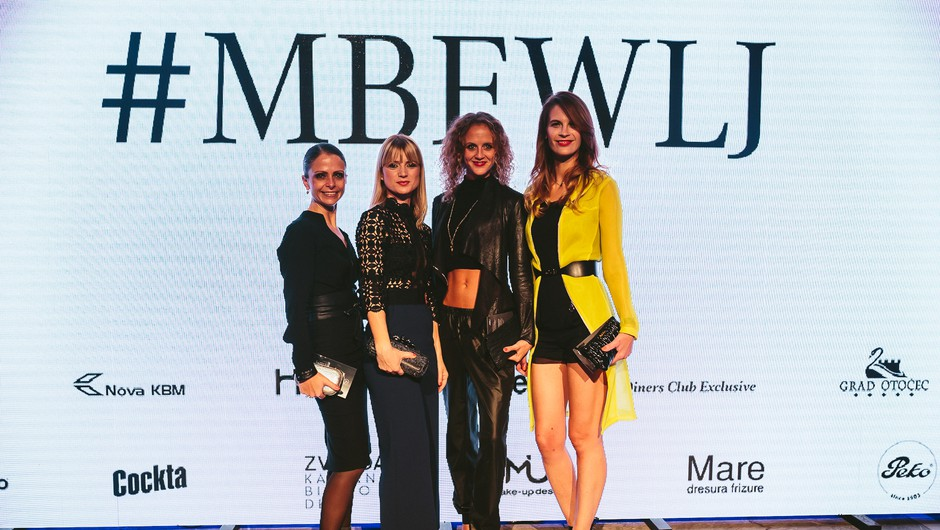 Dogajanje tedna mode Mercedes-Benz Fashion Week Ljubljana je tokrat gostil Cankarjev dom, ki so se ga udeležili številni znani obrazi. (foto: Jani Ugrin in Iztok Kurnik)