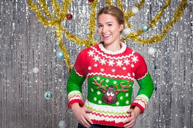 Drago Cosmo dekle, predstavljamo ti prvi pulover na svetu, ki ga lahko, verjela ali ne, v celoti poješ! Prav si …