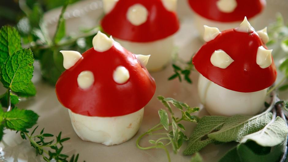 Recept: Užitne mušnice - super ideja za popestritev krožnika (foto: Peter Bratuša)