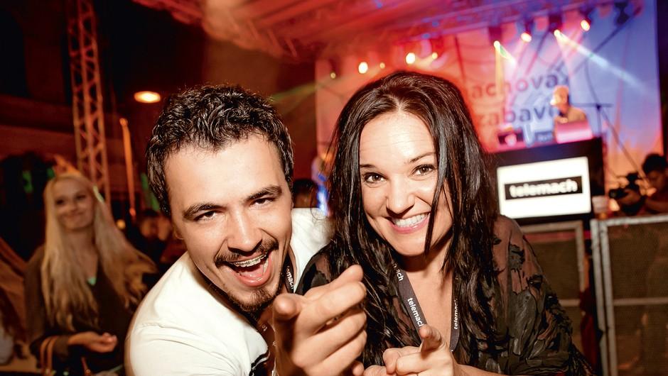 Alenka Gotar in Anže Šuštar bosta zibala! (foto: arhiv Adriamedia)