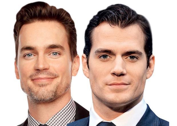 Matt Boomer in Henry Cavill Jekleni mož ali jekleni radiatorčki? Težka odločitev.