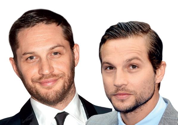 Tom Hardy in Logan Marshall-Green Če Pobesnelemu Maxu na glavo dodamo čopek dobimo Logana Marshalla-Greena.