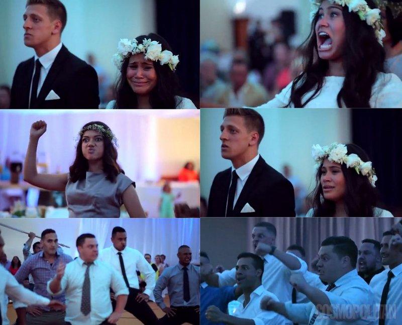 Haka ples na poroko