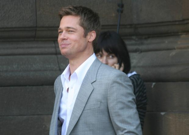 Brad Pitt ima v Italiji težko konkurenco ...