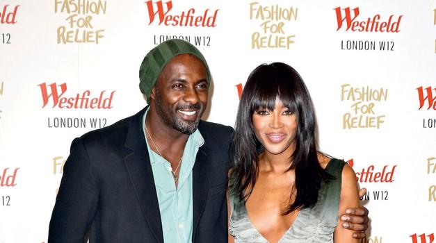 Idris in Naomi sta se sumljivo zbližala. (foto: Profimedia)