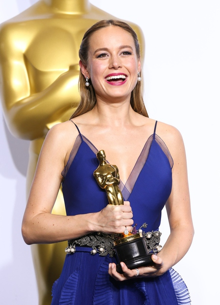 Brie Larson za glavno vlogo v filmu Soba.
