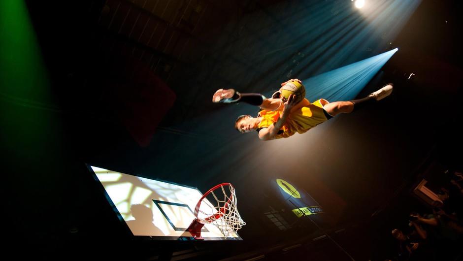 Na letošnjem Junior Festivalu tudi akrobatska poslastica (foto: facebook.com/dunking.devils)