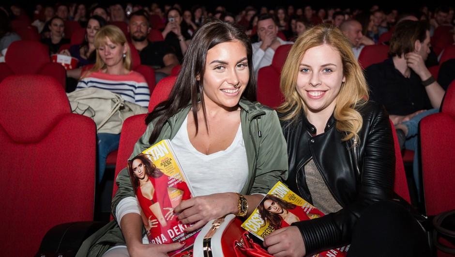 Šefica je zabavala znane Slovenke v Cineplexxu Kranj (foto: Mediaspeed)