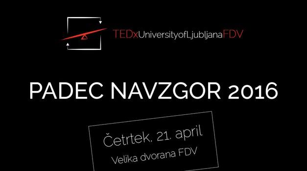 5 razlogov, zakaj letos moraš na TEDxFDV (foto: promocijsko gradivo organizatorja)
