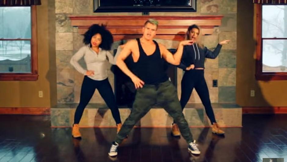VIDEO: Energična plesna vadba navdušuje splet in tudi tebe bo! (foto: Screenshot Youtube)