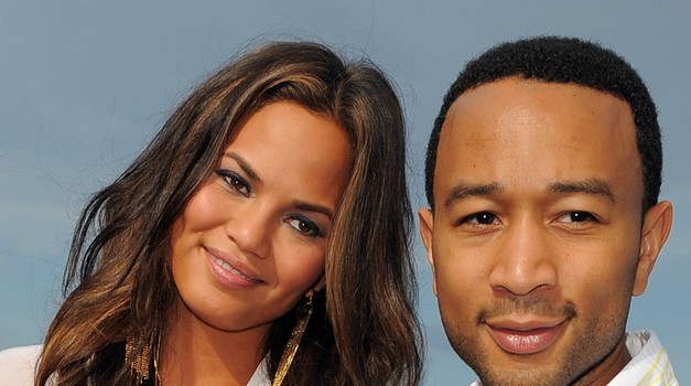 Chrissy Teigen in John Legend sta postala starša (foto: Profimedia)