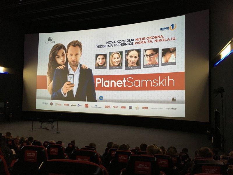 """Planet samskih, ""Mitja Okorn"", kolosej, film"