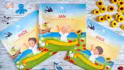 Zunaj prva personalizirana pesniška slikanica za otroke
